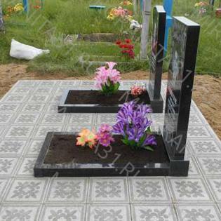 тротуарная плитка песчанка на могилу