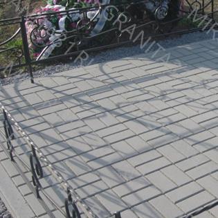 укладка плитки жбк на кладбище в белгороде