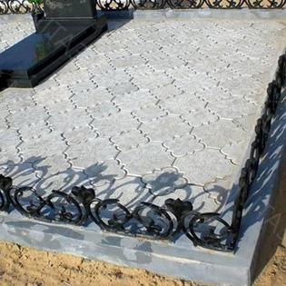 гжелка серая на кладбище в белгороде